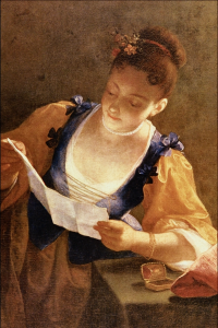 Young Woman Reading, Jean Raoux
